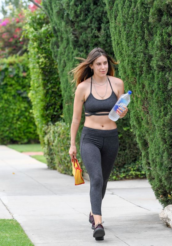 Scout Willis Looks Sporty - Leaving Her Gym in LA 08/02/2017