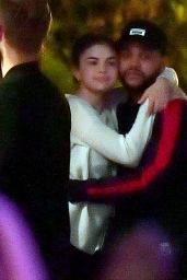 Selena Gomez With The Weeknd at Disneyland in Anaheim 08/21/2017