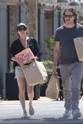 Shannen Doherty With Kurt Iswarienko - Shops at Vintage Grocers in Malibu 08/14/2017