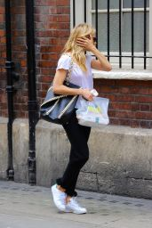 Sienna Miller - Arriving at Apollo Theatre in London, UK 08/21/2017