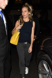 Sienna Miller - Leaving Apollo Theatre in London 08/23/2017