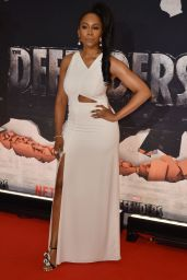 """Simone Missick - """"The Defenders"""" TV Show Premiere in NYC 07/31/2017"""