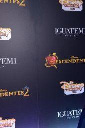 """Sofia Carson – """"Descendants 2"""" Premiere in Sao Paulo, Brazil 08/16/2017"""