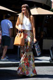 Sofia Vergara Style - at Il Pastaio in Beverly Hills 08/14/2017