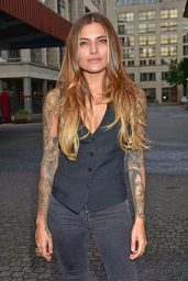 Sophia Thomalla - Memorial Event for Oliver Rath in Berlin 08/18/2017