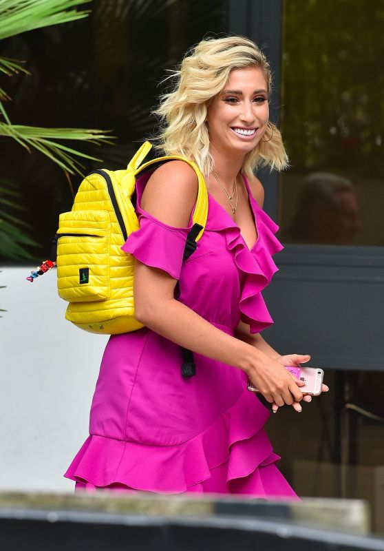Stacey Solomon - ITV Studios in London, UK 08/23/2017