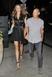 Stacy Keibler - Leaving the Dream Hotel in Los Angeles 08/10/2017