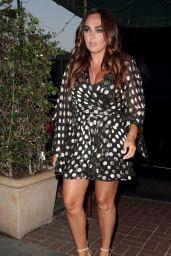 Tamara Ecclestone & Petra Ecclestone - Madeo Restaurant in West Hollywood 08/21/2017