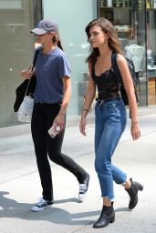 Taylor Hill and Mackinley Hill – Victoria's Secret Fashion Show Casting in NYC 08/21/2017