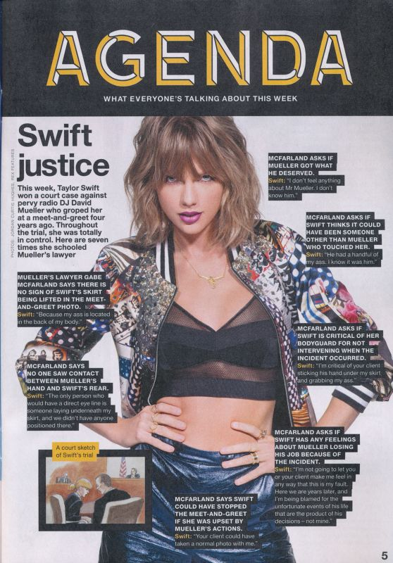 Taylor Swift - NME August 18th 2017