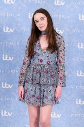 "Tilly Steele – ""Victoria"" TV Show Season 2 Photocall in London 08/24/2017"