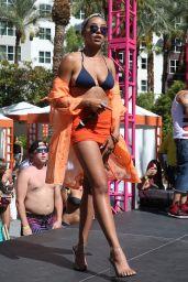 Tinashe - Performs Live at Go Pool inside Flamingo Hotel & Casino in Las Vegas 08/12/2017