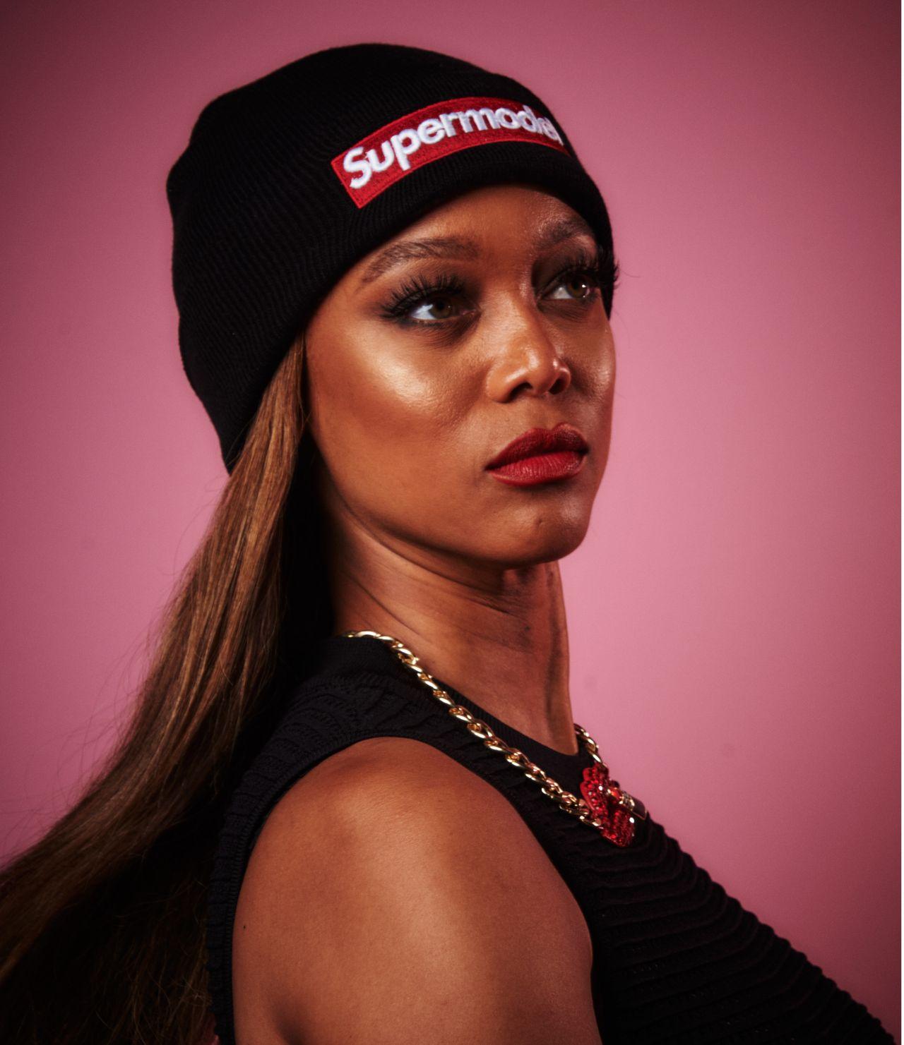 Tyra Banks Contact: Variety Portrait Studio At Beautycon Festival