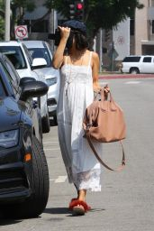 Vanessa Hudgens - Heads Out to a Massage Place in Los Angeles 08/25/2017