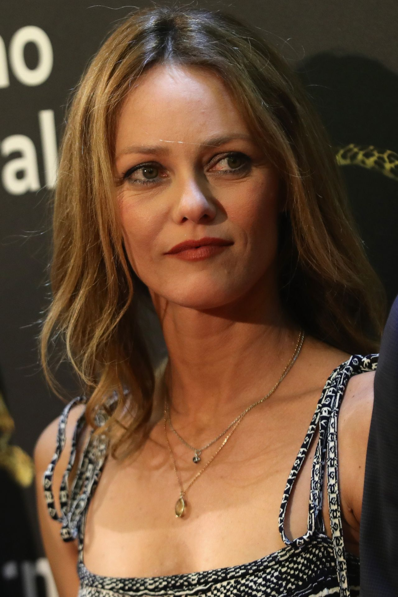"Vanessa Paradis -""Chien"" Premiere at the Locarno Film ... Vanessa Paradis"