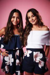 Veronica Merrell and Vanessa Merrell – Variety Portrait Studio at Beautycon Festival in LA 08/12/2017