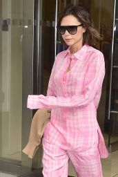 Victoria Beckham is Looking All Stylish - Chelsea in New York City 08/29/2017