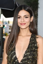 Victoria Justice – Harper's Bazaar September Issue Dinner in LA 08/22/2017