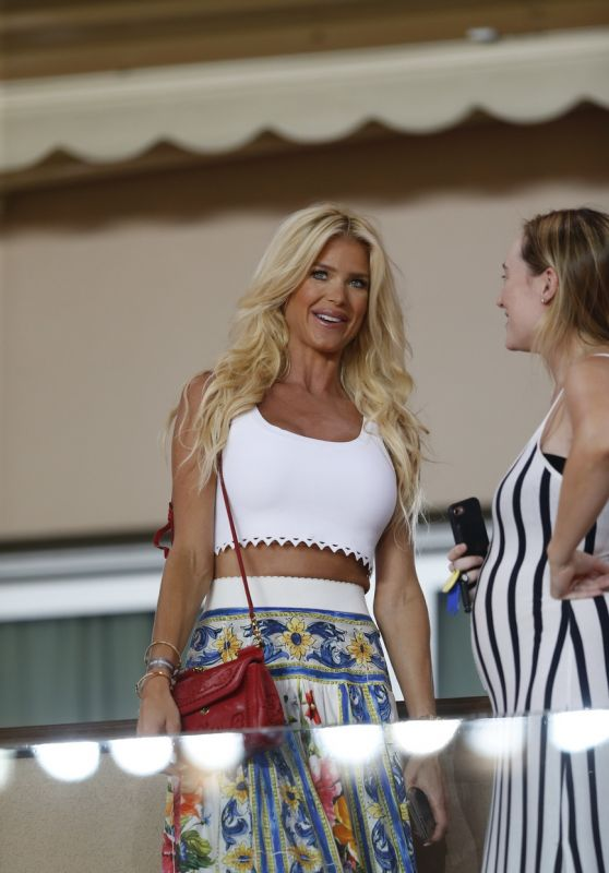 Victoria Silvstedt - AS Monaco Vs Olympique Marseille at Louis II stadium in Monaco 08/27/2017