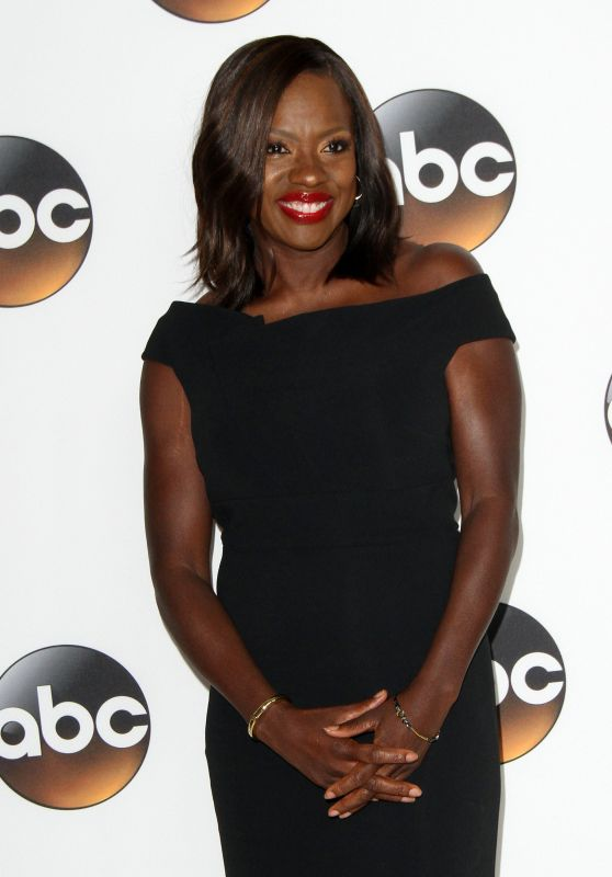 Viola Davis - Disney/ABC TCA Summer Press Tour in Beverly Hills 08/06/2017