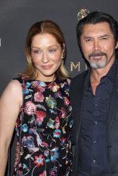 Yvonne Boismier Phillips – Emmys Cocktail Reception in Los Angeles 08/22/2017