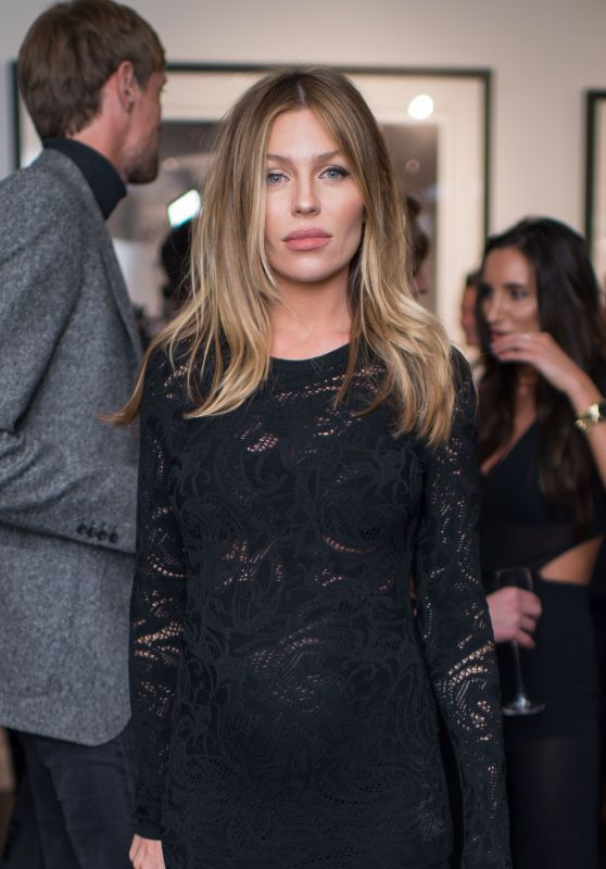 Abbey Clancy - David Yarrow Exhibition Private View in London 09/14/2017