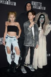 Alabama Luella Barker – Knott's Scary Farm Celebrity Night in Buena Park CA 09/29/2017