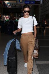 Alessandra Ambrosio at LAX Airport in LA 09/26/2017