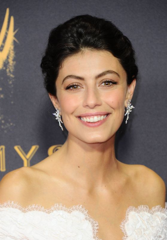 Alessandra Mastronardi – Emmy Awards in Los Angeles 09/17/2017