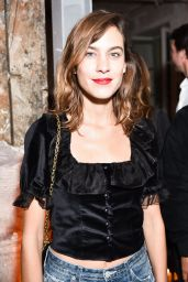 "Alexa Chung – ""Betak Fashion Revolution"" Launch in Paris 09/27/2017"