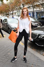 Alexina Graham - Out in Paris 09/25/2017