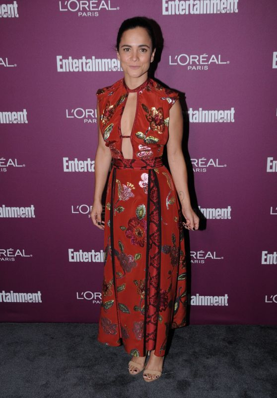 Alice Braga – EW Pre-Emmy Party in Los Angeles 09/15/2017