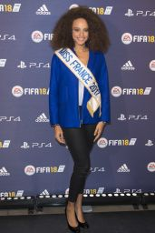 """Alicia Aylies – """"FIFA 2018"""" Game Launch Party in Paris 09/25/2017"""
