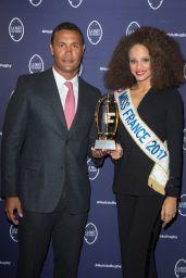 Alicia Aylies – La Nuit du Rugby Awards in Paris 09/18/2017