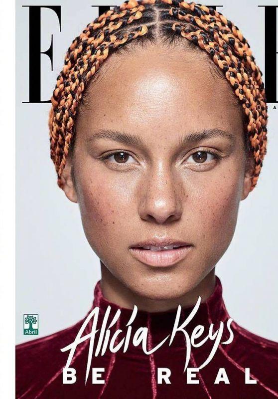 Alicia Keys - Elle Magazine Brazil September 2017
