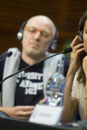 "Alicia Vikander - ""Submergence"" Press Conference in San Sebastian 09/22/2017"