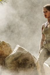 Alicia Vikander - Tomb Raider (2018) Photos and Poster