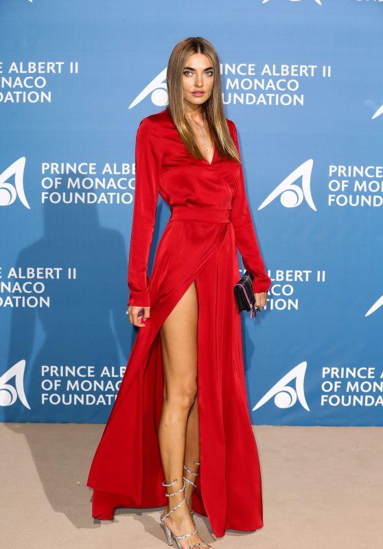 Alina Baikova – Monte Carlo Gala for the Global Ocean, Monaco 09/28/2017