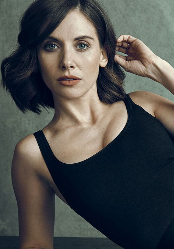 Alison Brie – The Hollywood Reporter Portrait Studio at TIFF 2017