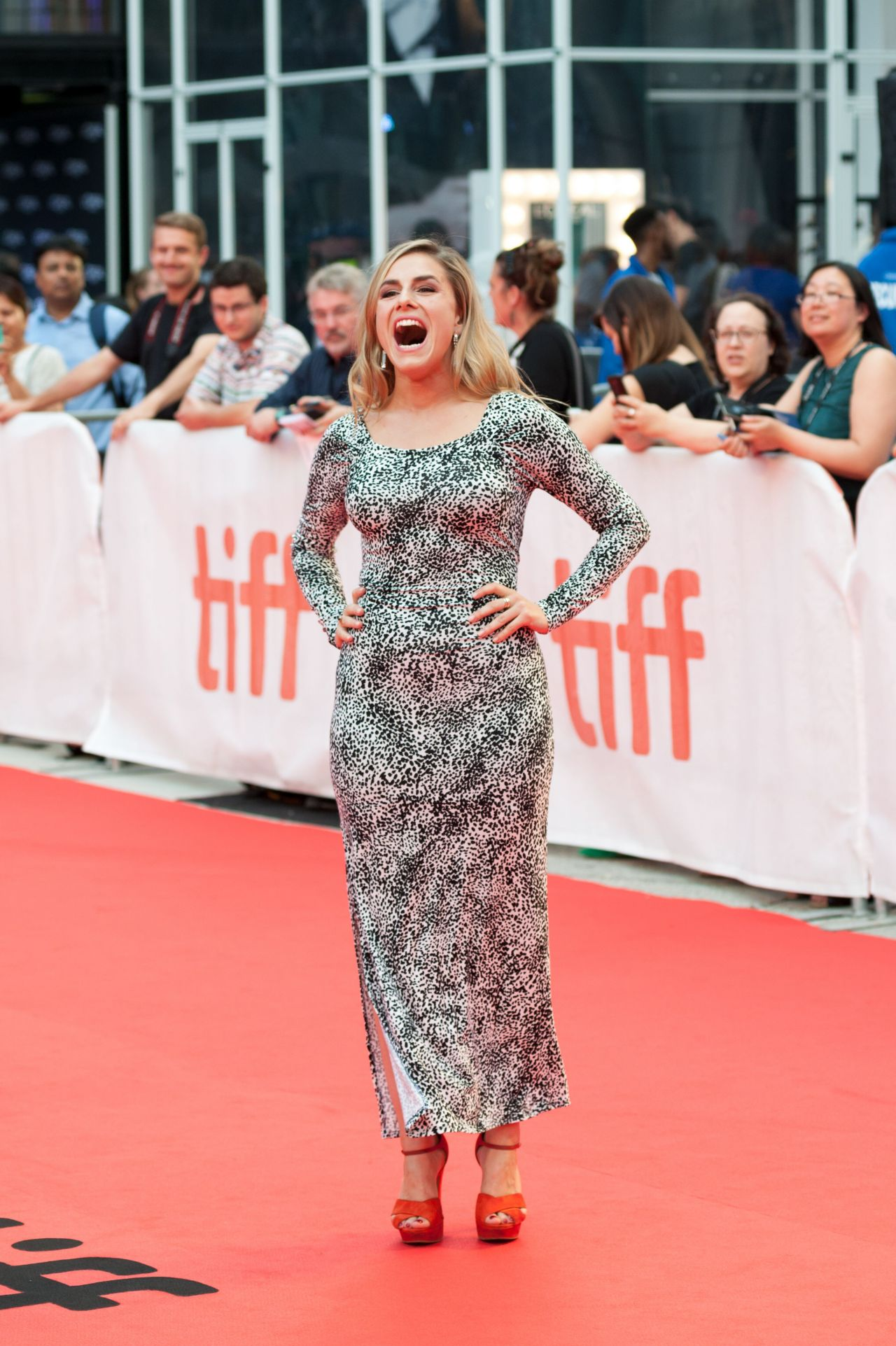 Alix Wilton Regan The Wife Premiere In Toronto 09 14 2017