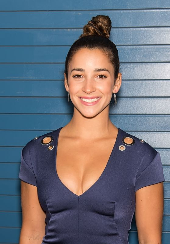 Aly Raisman at Pamella Roland Show - NYFW in NYC 09/06/2017