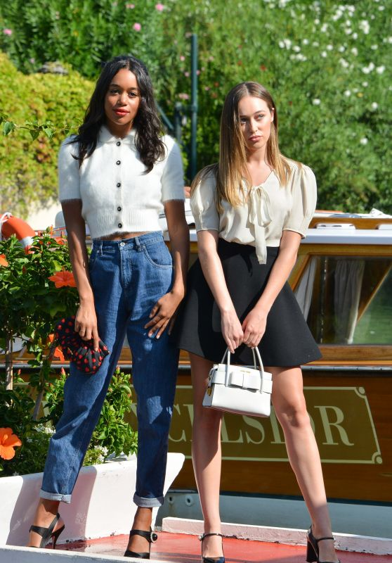 Alycia Debnam-Carey & Laura Harrier – 74th Venice International Film Festival, Italy 09/02/2017