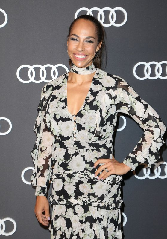 Amanda Brugel – Audi Emmy Party in Los Angeles 09/14/2017