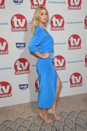 Amanda Clapham – 2017 TV Choice Awards in London