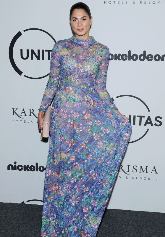 Amanda Faical - UNITAS Gala Against Human Trafficking at New York Fashion Week 09/12/2017