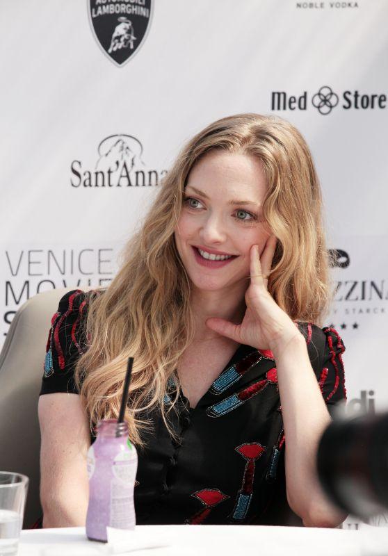Amanda Seyfried at the Venice Movie Stars Lounge 08/31/2017