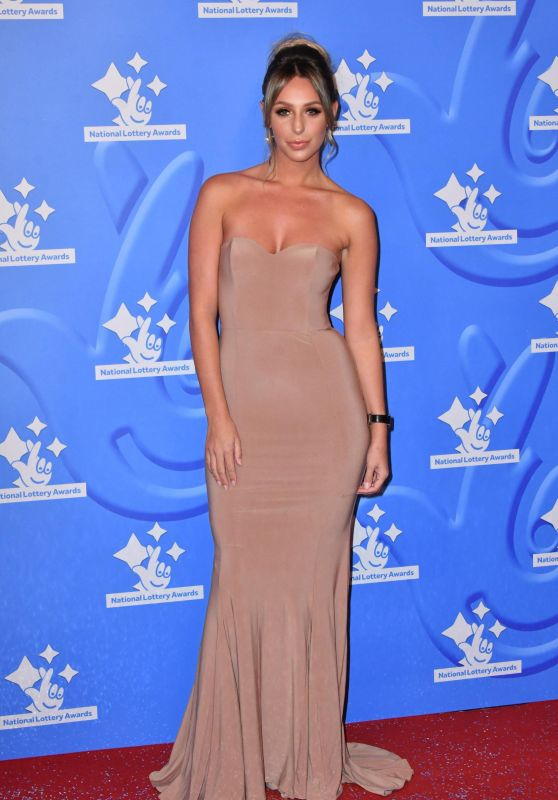 Amber Dowding – National Lottery Awards in London 09/18/2017