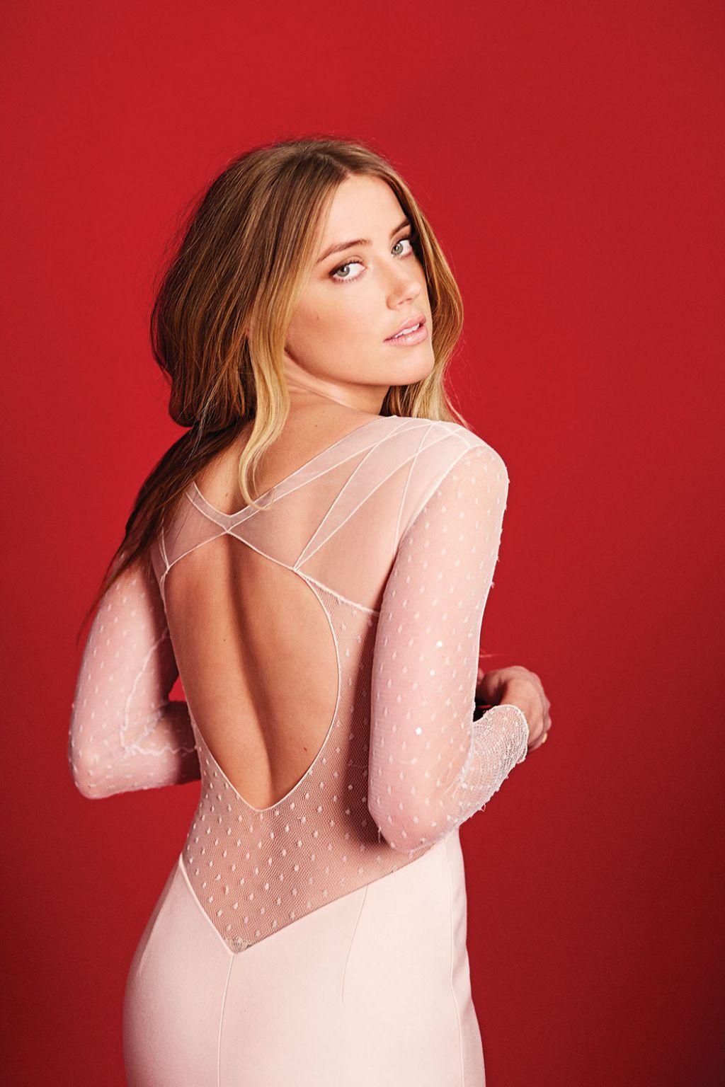 Amber Heard - Photoshoot for Flare Magazine