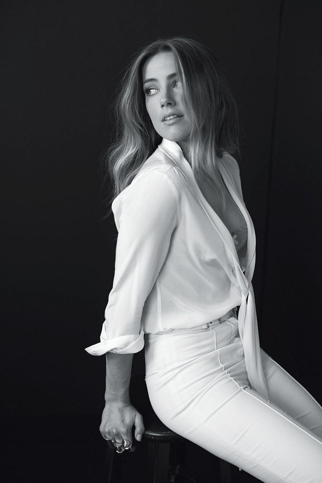 Amber Heard Photoshoot For Flare Magazine