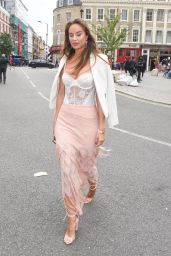 """Amber Jade - Fashion Scout """"One To Watch"""" Show in London 09/15/2017"""